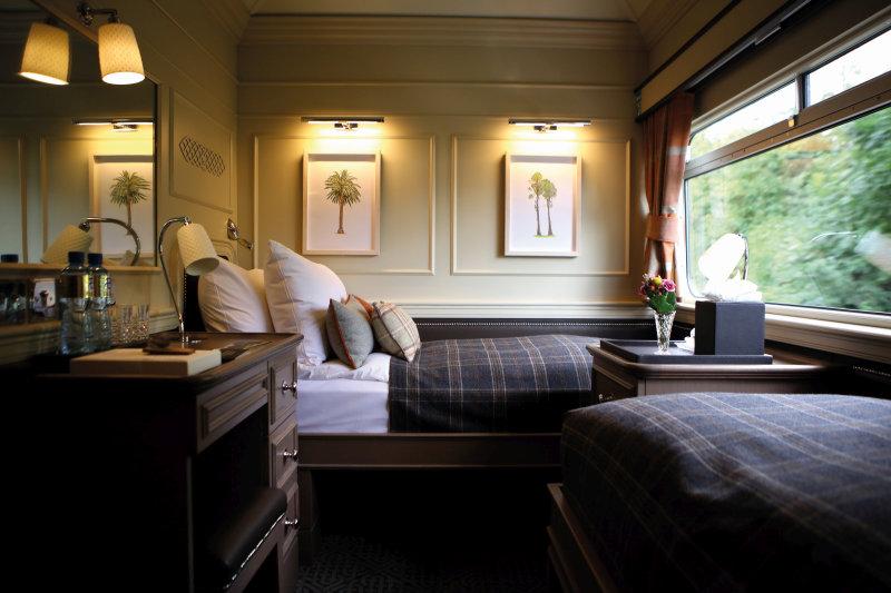 Ontdek Ierland met de nieuwe Grand Hibernian luxetrein - bedroom