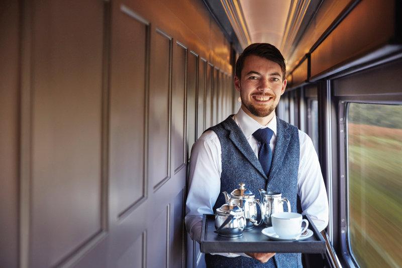 Ontdek Ierland met de nieuwe Grand Hibernian luxetrein - on board service
