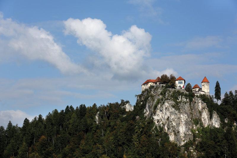Slovenië, een rondje in de groene parel - Kasteel van Bled