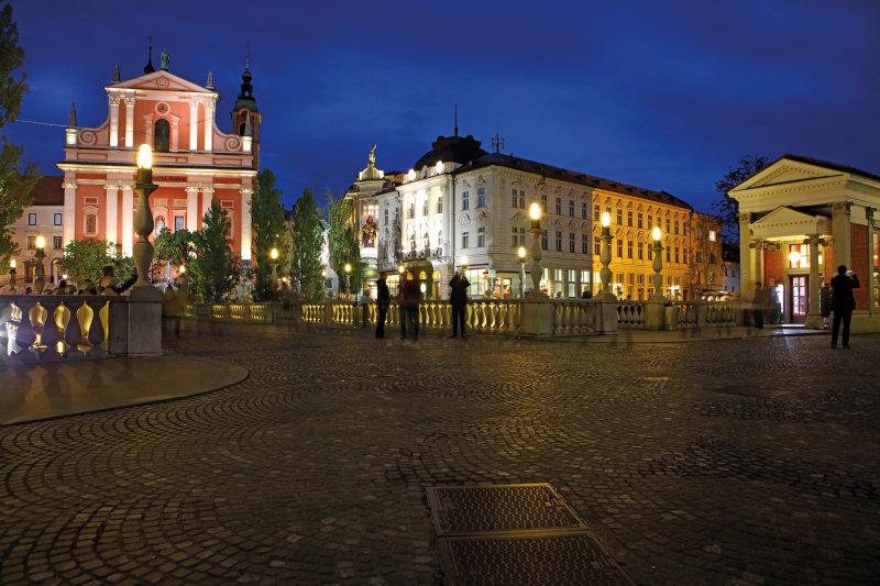 Slovenië, een rondje in de groene parel - Ljubljana