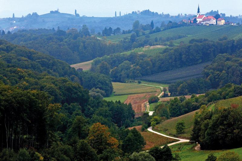 Slovenië, een rondje in de groene parel - landschap