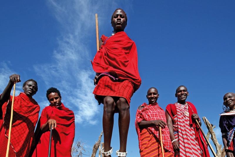 Tanzania - Maasai groep
