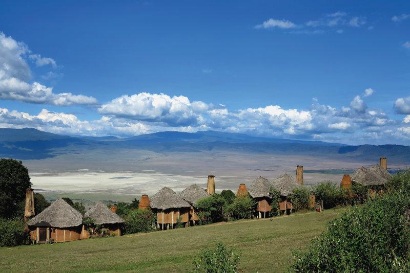 Tanzania - hotel rond Ngorongorokrater