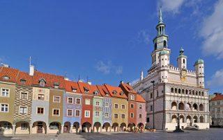 Rondreis Polen - Marktplein met Raadhuis in Poznań