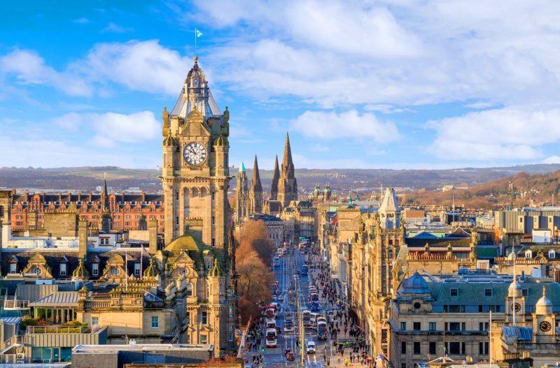 Edinburgh, de favoriete bestemming van collega Aart - Old town