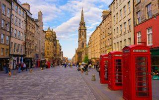 Edinburgh, de favoriete bestemming van collega Aart - Street view