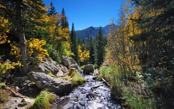 Deze 10 prachtige nationale parken in de VS kende u misschien nog niet - Rocky Mountain National Park - rivier