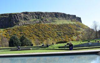 Edinburgh, de favoriete bestemming van collega Aart - Salisbury Craggs