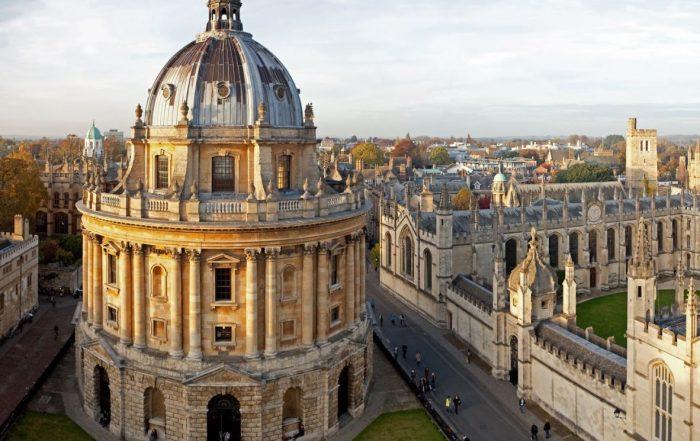 Met Luc Ponet naar Oxford