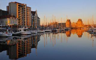 Hip en trendy overnachten in Oostende - Haven van Oostende