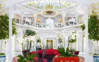 Luxe citytrip Monaco - Hotel Hermitage - Lobby