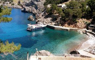 Mallorca, de favoriete bestemming van onze collega Kris - baai met strand