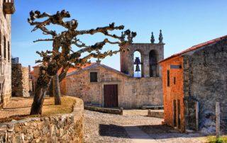 Riviercruise op de Douro - Rocamador kerk in Castelo Rodrigo - Portugal