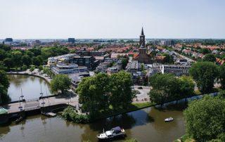 Riviercruise op de kanalen en rivieren van Nederland - Leeuwarden - Nederland