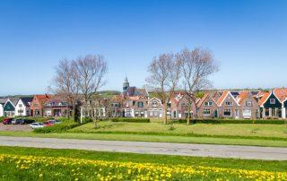 Riviercruise op de kanalen en rivieren van Nederland - Oudeschild - Waddeneiland Texel - Nederland
