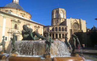 Valencia, de favoriete bestemming van onze collega An - Kathedraal en Plaza de la Virgen