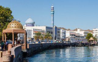 Fly en Cruise van Dubai naar Abu Dhabi en Oman - Muscat - Oman