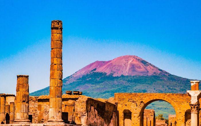 Met Luc Verhuyck naar Napels en Pompeii