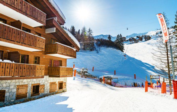 Ontdek het skigebied Paradiski in de Franse Alpen - Les Chalets Edelweiss