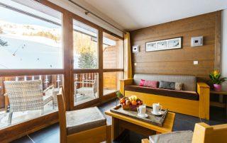 Ontdek het skigebied Paradiski in de Franse Alpen - Les Chalets Edelweiss - appartement