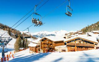 Ontdek het skigebied Paradiski in de Franse Alpen - Les Chalets Edelweiss - skilift