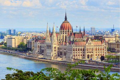 Riviercruise op de Donau, van München tot aan de Zwarte Zee - Parlementsgebouw Boedapest - Hongarije