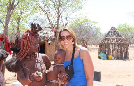 Namibië, de favoriete bestemming van collega Dominique - himbavrouwen