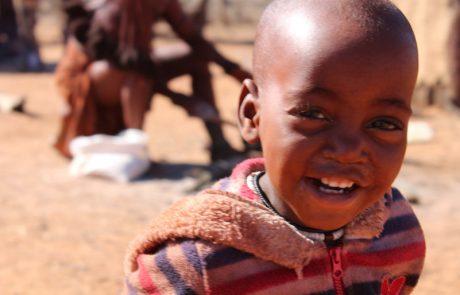 Namibië, de favoriete bestemming van collega Dominique - kind