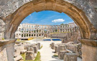 Kroatië, favoriete bestemming van collega Tiffany - Pula