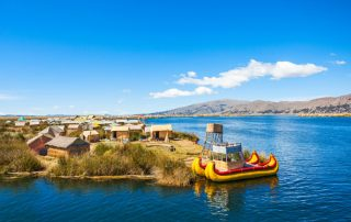 Rondreis Peru - Drijvend eiland Uros - Titicacameer