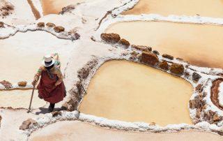 Rondreis Peru - Zoutterassen van Maras