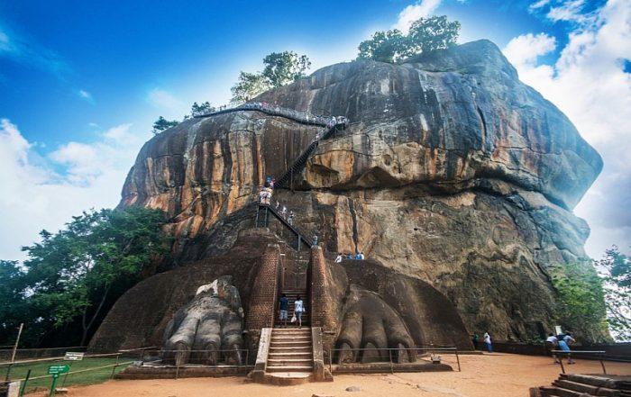Rondreis Sri Lanka - Sigiriya rotstempel