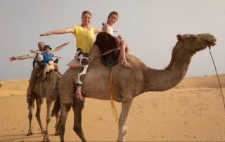Ontdek Senegal met het gezin - kameeltocht