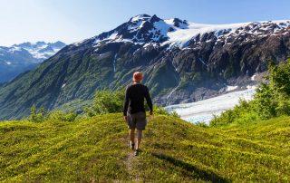 Rondreis Alaska - Exit Glacier in Kenai Fjords National Park - Seward