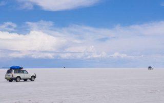 Rondreis Bolivië – Land van uitersten - Salar de Uyuni met 4x4