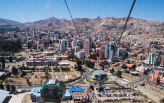 Rondreis Bolivië – Land van uitersten - kabelbaan - La Paz