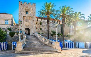 Rondreis Kroatië - Oude stad van Korcula