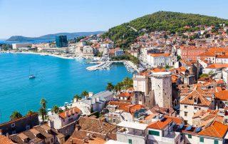 Rondreis Kroatië - Split en Marjan heuvel