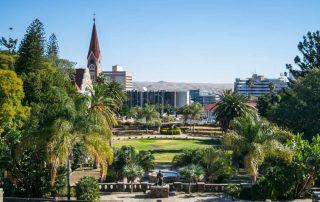Rondreis Namibië - Parliament Park - Windhoek