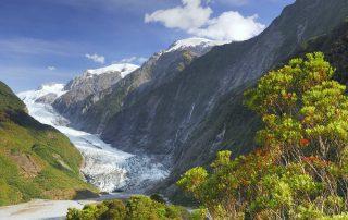 Rondreis Nieuw-Zeeland - Franz Josef gletsjer