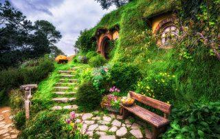 Rondreis Nieuw-Zeeland - Matamata - The Hobbit