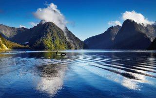 Rondreis Nieuw-Zeeland - Milford Sound fjord
