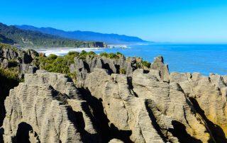 Rondreis Nieuw-Zeeland - Punakaiki met de Pancake Rocks