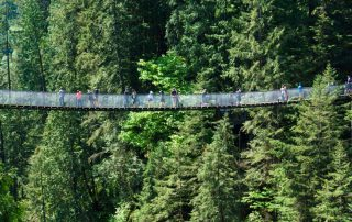 Rondreis West-Canada langs 6 nationale parken - Capilano Suspension Bridge - Vancouver