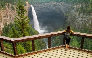 Rondreis West-Canada langs 6 nationale parken - Helmcken watervallen - Wells Gray Provincial Park - Clearwater