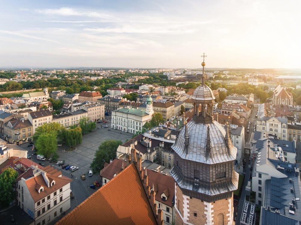 5-daagse vliegtuigreis naar Krakau - Polen