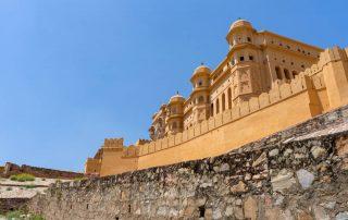 De Gouden Driehoek van India - Amer fort - Jaipur