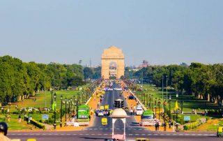 De Gouden Driehoek van India - New Delhi