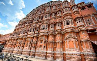 De Gouden Driehoek van India - Paleis der Winden - Jaipur