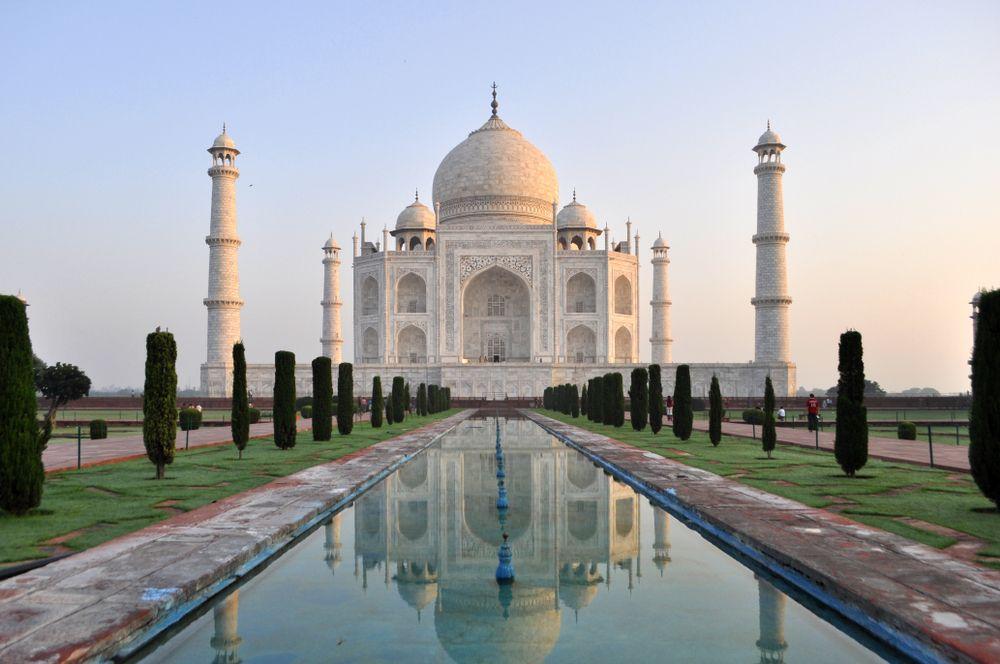 De Gouden Driehoek van India - Taj Mahal - Agra
